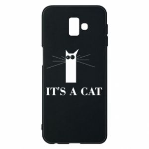 Samsung J6 Plus 2018 Case It's a cat