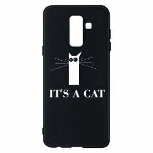 Samsung A6+ 2018 Case It's a cat