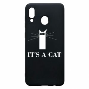 Samsung A20 Case It's a cat