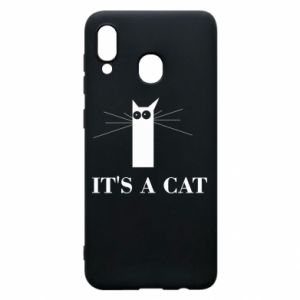 Samsung A30 Case It's a cat