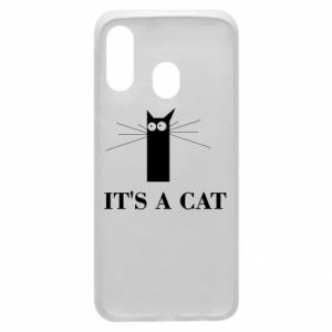 Samsung A40 Case It's a cat