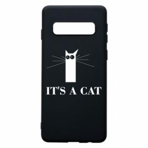 Samsung S10 Case It's a cat