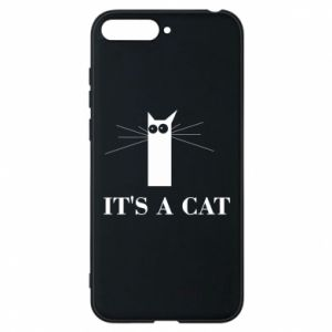 Huawei Y6 2018 Case It's a cat