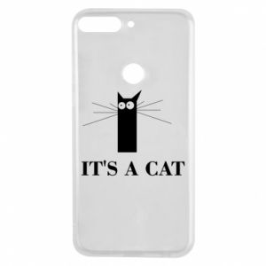 Huawei Y7 Prime 2018 Case It's a cat