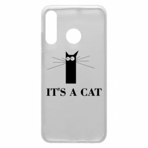 Huawei P30 Lite Case It's a cat