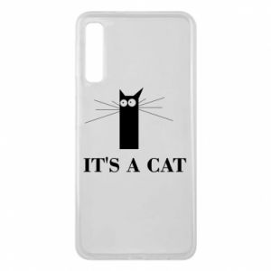 Samsung A7 2018 Case It's a cat