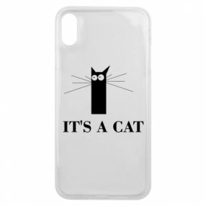 iPhone Xs Max Case It's a cat