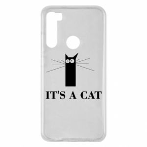 Xiaomi Redmi Note 8 Case It's a cat