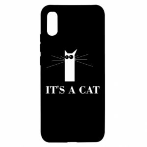 Xiaomi Redmi 9a Case It's a cat