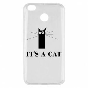 Xiaomi Redmi 4X Case It's a cat