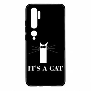 Xiaomi Mi Note 10 Case It's a cat