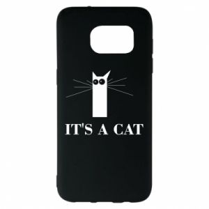Samsung S7 EDGE Case It's a cat