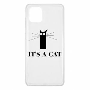 Samsung Note 10 Lite Case It's a cat