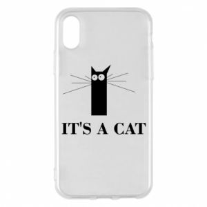 iPhone X/Xs Case It's a cat