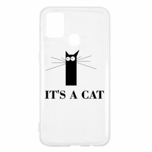 Samsung M31 Case It's a cat
