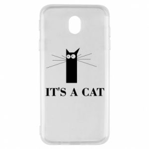 Samsung J7 2017 Case It's a cat