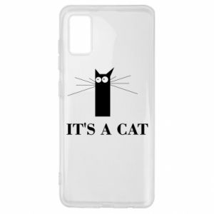 Samsung A41 Case It's a cat