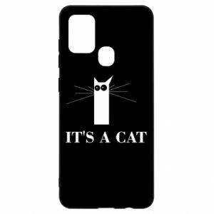 Samsung A21s Case It's a cat