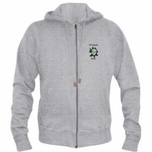Men's zip up hoodie It's been real