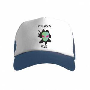 Kid's Trucker Hat It's been real