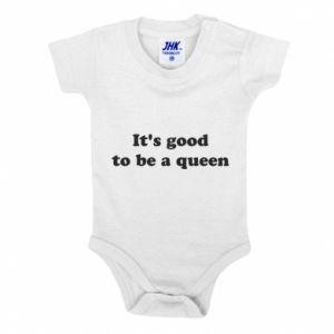 Body dla dzieci It's good to be a queen