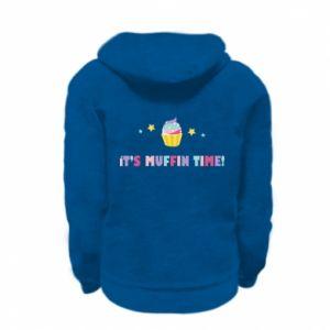 Bluza na zamek dziecięca It's muffin time