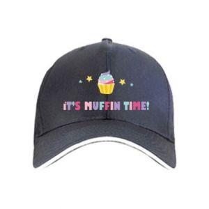 Cap It's muffin time