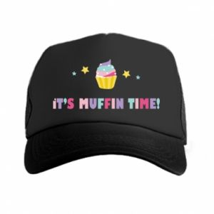 Trucker hat It's muffin time