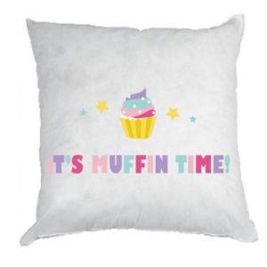 Pillow It's muffin time