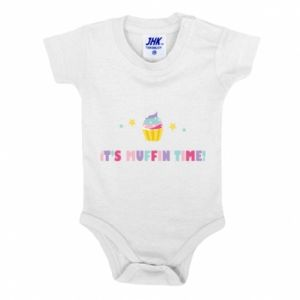 Baby bodysuit It's muffin time
