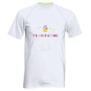 Koszulka sportowa męska It's muffin time