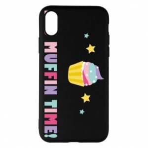 Phone case for iPhone X/Xs It's muffin time