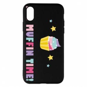 Etui na iPhone X/Xs It's muffin time