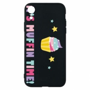 Etui na iPhone XR It's muffin time