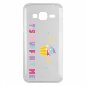 Phone case for Samsung J3 2016 It's muffin time