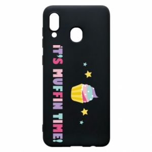 Phone case for Samsung A20 It's muffin time