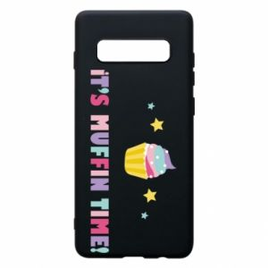 Phone case for Samsung S10+ It's muffin time