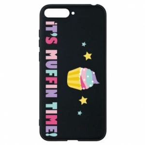 Phone case for Huawei Y6 2018 It's muffin time