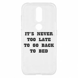 Nokia 4.2 Case It's never too late to go bsck to bed