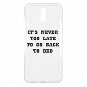 Nokia 2.3 Case It's never too late to go bsck to bed
