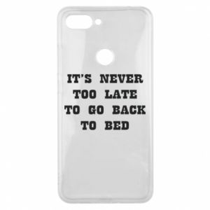 Phone case for Xiaomi Mi8 Lite It's never too late to go bsck to bed