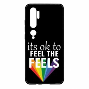 Xiaomi Mi Note 10 Case It's ok to feel the feels