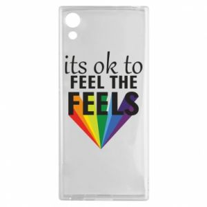 Sony Xperia XA1 Case It's ok to feel the feels