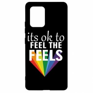 Samsung S10 Lite Case It's ok to feel the feels