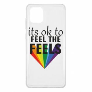 Samsung Note 10 Lite Case It's ok to feel the feels