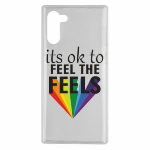 Samsung Note 10 Case It's ok to feel the feels
