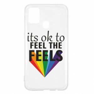 Samsung M31 Case It's ok to feel the feels