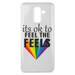 Samsung J8 2018 Case It's ok to feel the feels