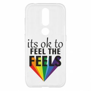 Nokia 4.2 Case It's ok to feel the feels