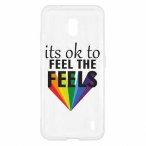 Nokia 2.2 Case It's ok to feel the feels